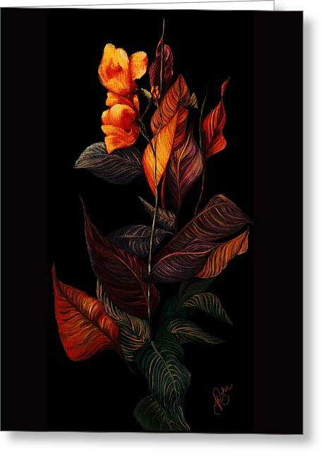 Beauty In The Dark Greeting Card