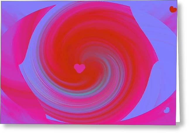 Greeting Card featuring the digital art Beauty Marks by Catherine Lott