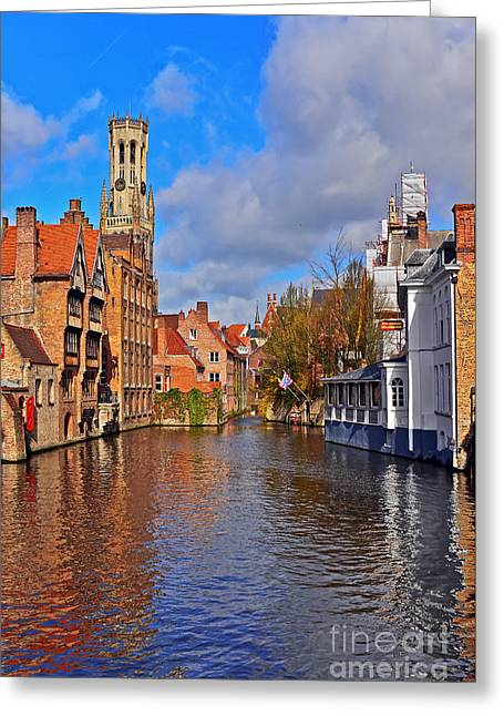 Beauty Of Belgium Greeting Card