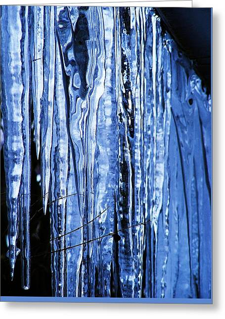 Beauty Of Ice Greeting Card