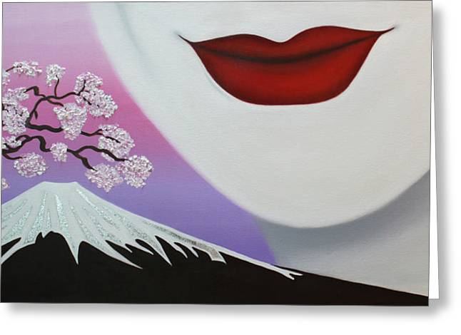Beauty Of Japan Greeting Card by Wahine Art