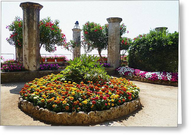 Beauty Of Ravello Italy Greeting Card