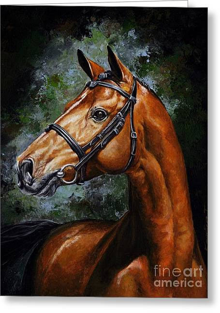 Beauty Real Greeting Card by Emerico Imre Toth