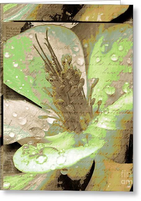 Beauty X Greeting Card by Yanni Theodorou