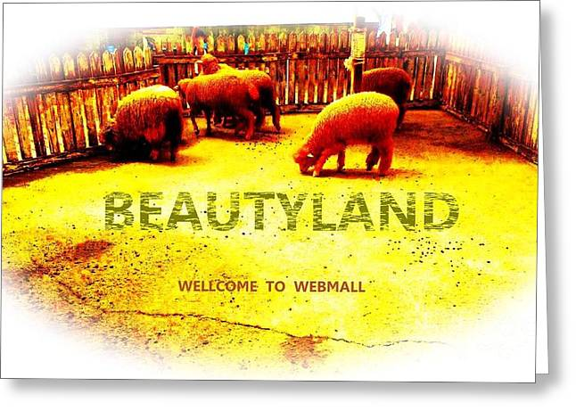 Beautyland Greeting Card