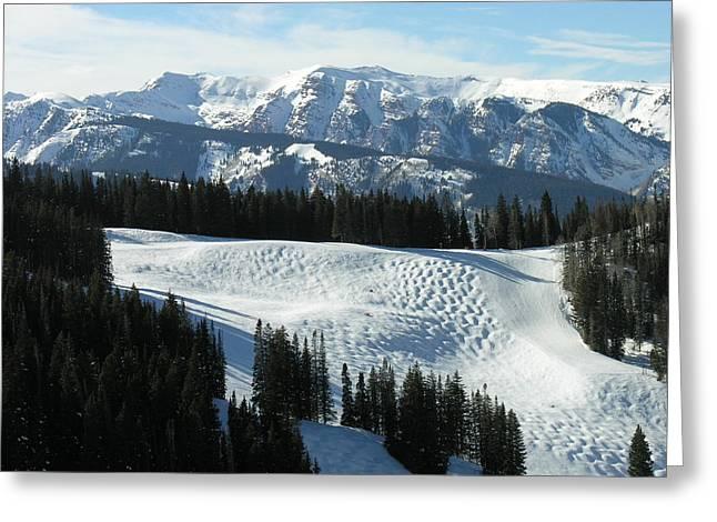Beaver Creek Colorado Greeting Card by Jacqueline M Lewis