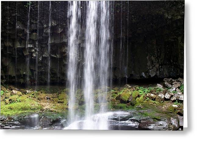 Greeting Card featuring the photograph Beaver Falls by Chalet Roome-Rigdon