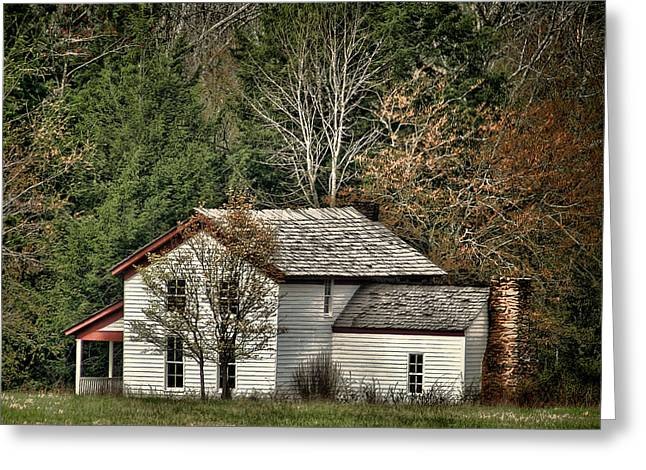 Becky Cable House Greeting Card by TnBackroadsPhotos