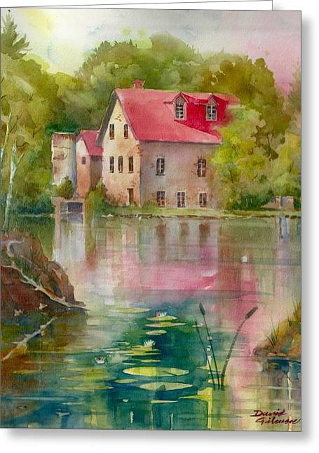 Bedford Mill Greeting Card
