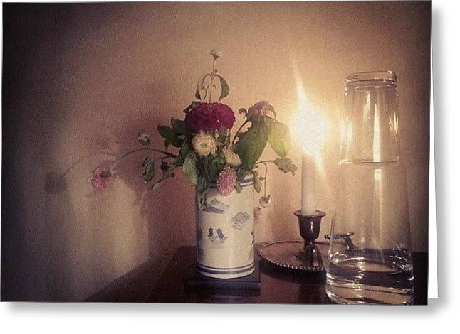 Bedside Still Life Greeting Card