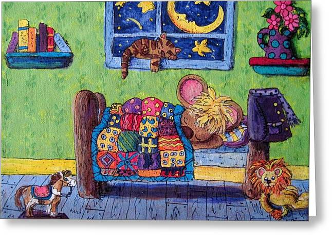 Bedtime Mouse Greeting Card