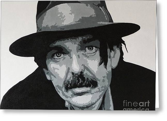 Beefheart Greeting Card by ID Goodall