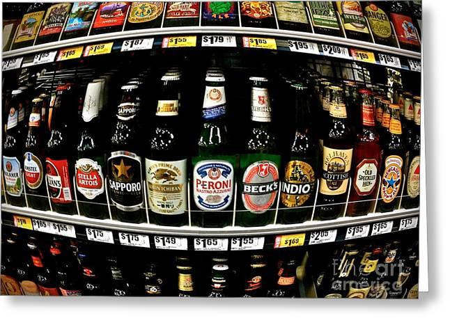 Beer Of Choice II - No.9188 Greeting Card