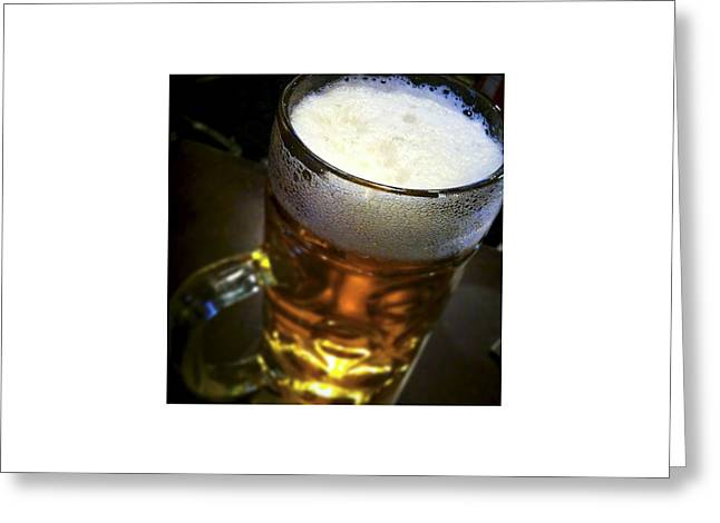 Beer_06.08.12 Greeting Card by Paul Hasara