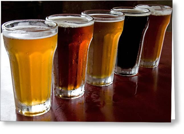 Beers  Greeting Card