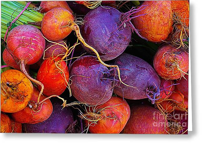 Greeting Card featuring the photograph Beets Me  by John S