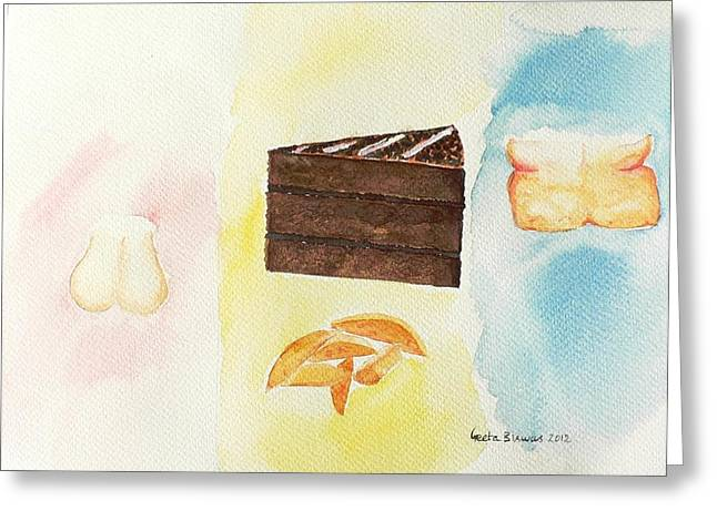 Before - After  Greeting Card by Geeta Biswas