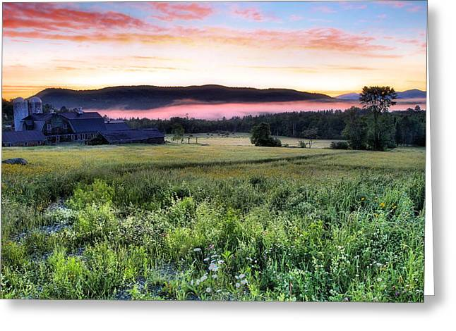 Before Sunrise In Sugar Hill Greeting Card by Andrea Galiffi