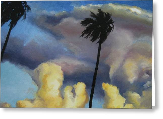 Before Sunset Greeting Card by Jindra Noewi