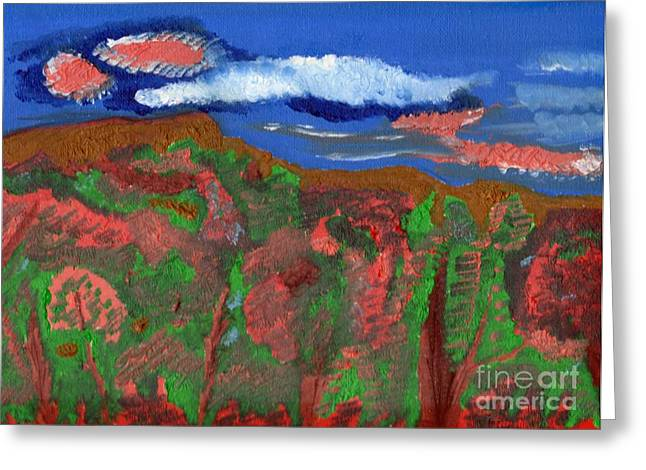 Before The Fall Greeting Card by Robert Garris