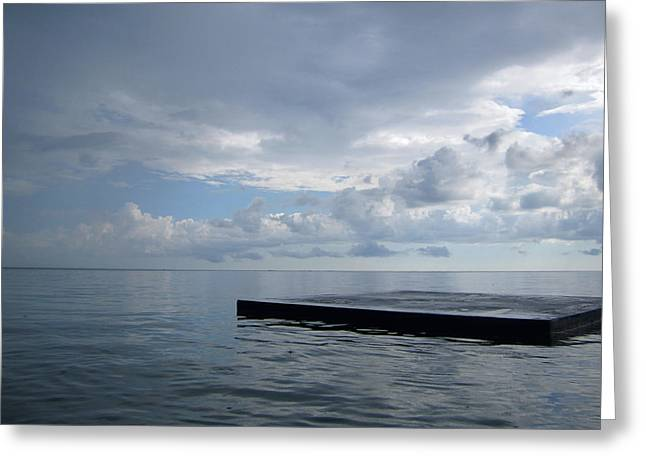 Greeting Card featuring the photograph Before The Rain by Jon Emery