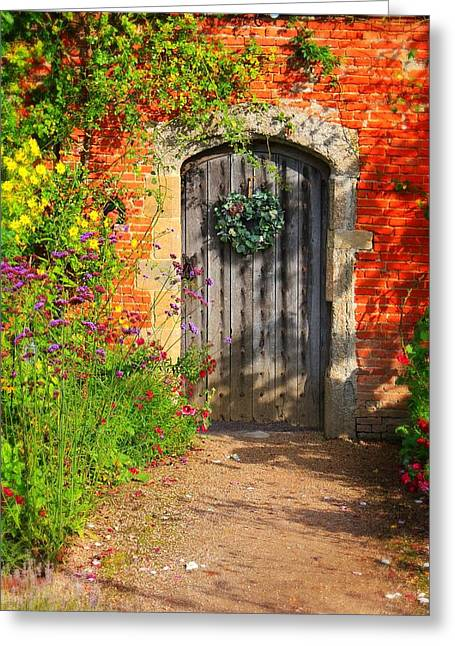 Greeting Card featuring the photograph Before The Secret Garden by Michael Hope