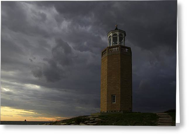 Before The Storm. Greeting Card by David Freuthal