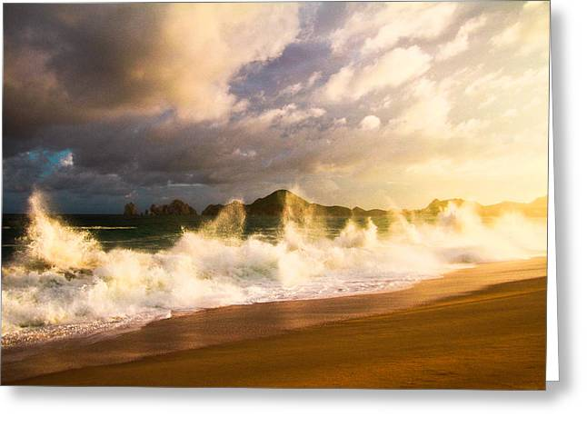 Greeting Card featuring the photograph Before The Storm by Eti Reid