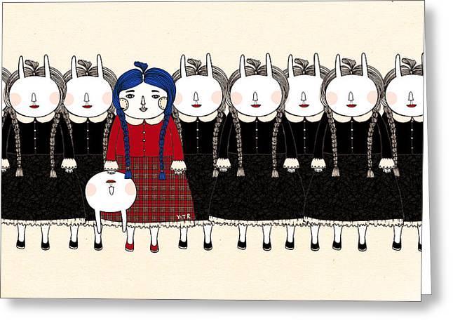 Beginning Greeting Card by Yoyo Zhao