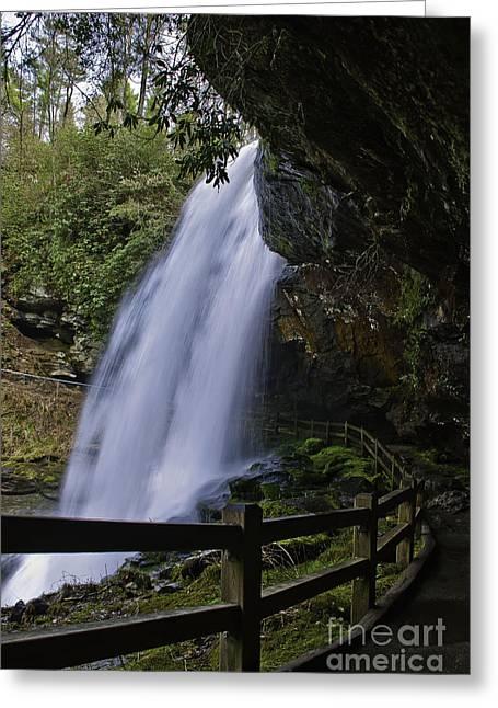 Behind Dry Falls 001 Greeting Card by John Hoffman