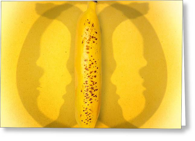 Being Bananas From Inversions In The Multiverse Greeting Card by Jorgo Photography - Wall Art Gallery
