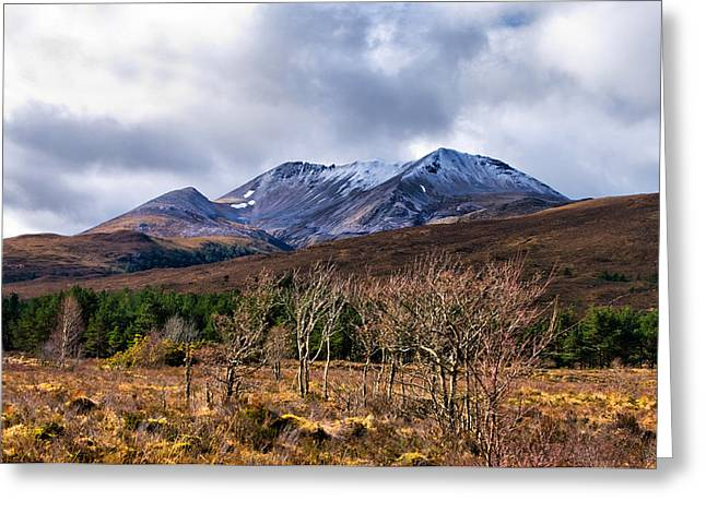 Greeting Card featuring the photograph Beinn Eighe by Jacqi Elmslie