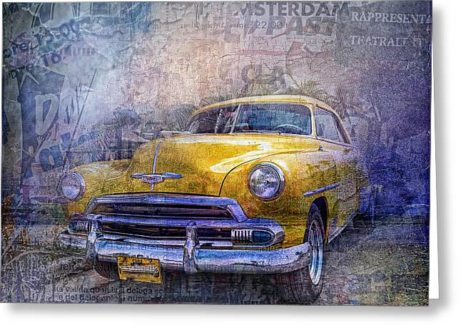 Bel Air Greeting Card by Mo T