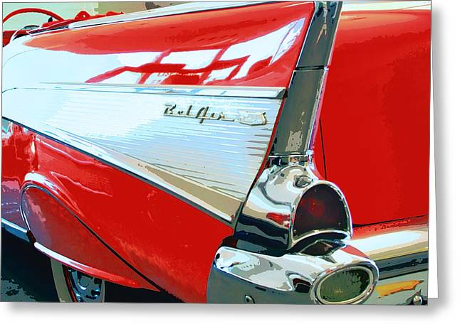 Bel Air Palm Springs Greeting Card by William Dey
