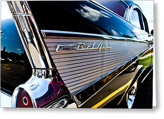 Greeting Card featuring the photograph Bel Air Reflections by Joann Copeland-Paul