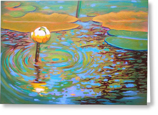 Belchertown Lily Greeting Card by Susi Franco