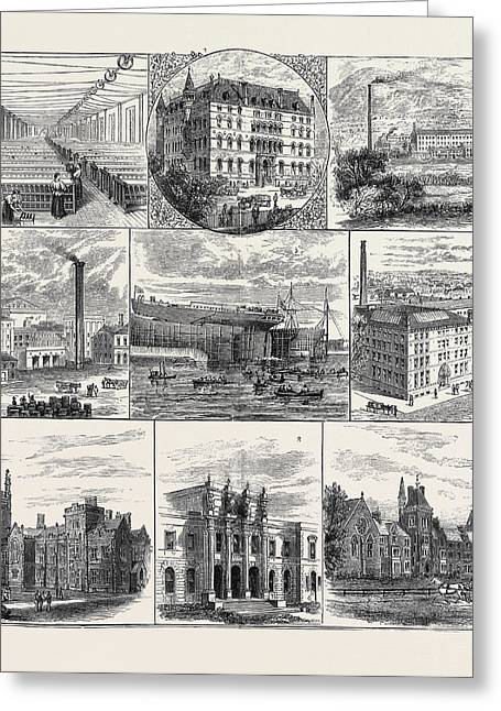Belfast And Its Industries, Meeting Of The British Greeting Card by English School