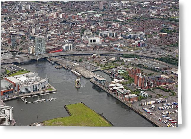 Belfast City, Ulster Greeting Card by Colin Bailie