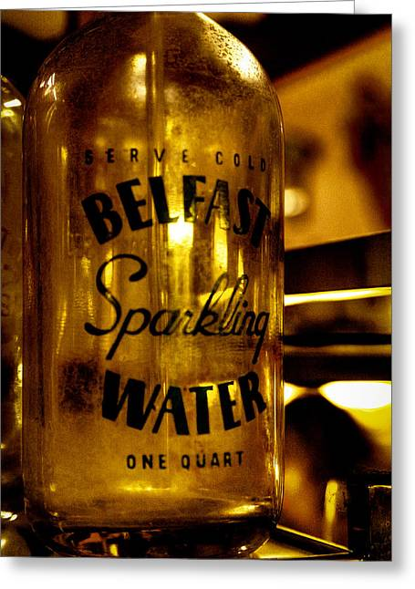 Belfast Sparkling Water Greeting Card by David Patterson