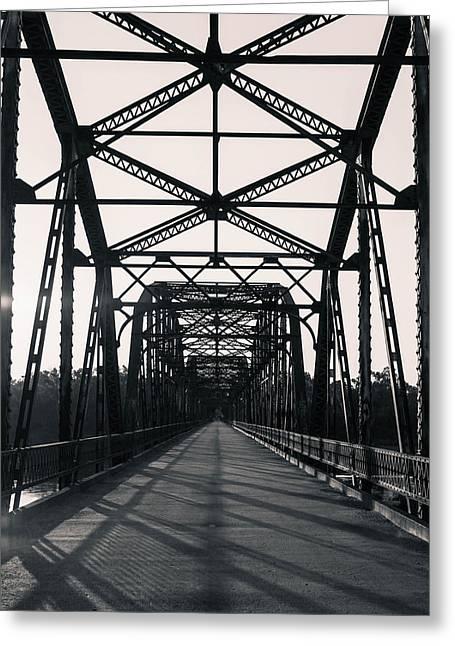 Belford Bridge  Greeting Card