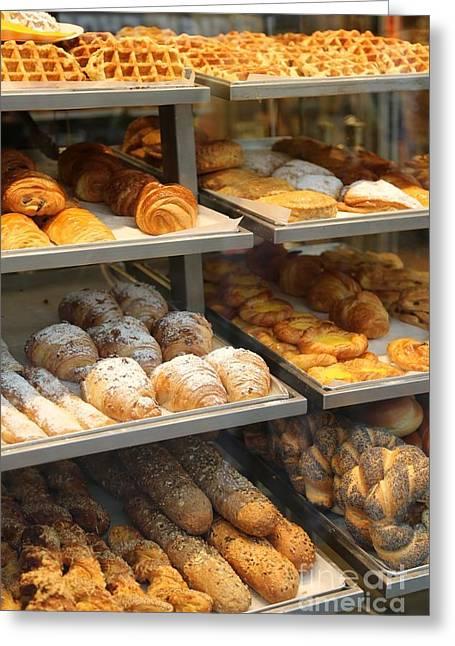 Belgian Bakery Greeting Card