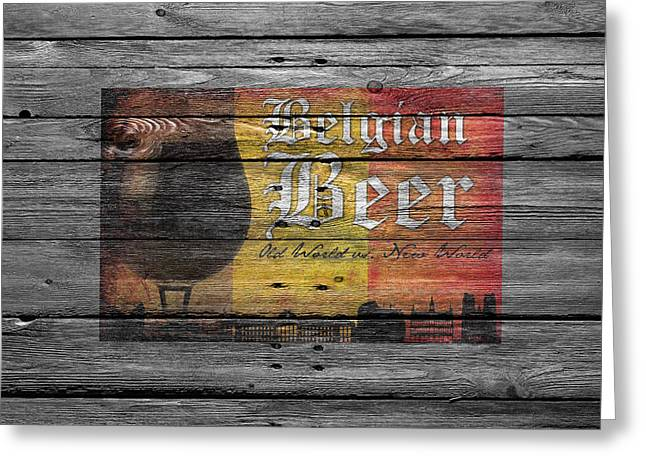 Belgian Beer Greeting Card