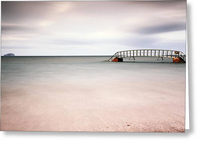 Belhaven Bay Greeting Card by Grant Glendinning