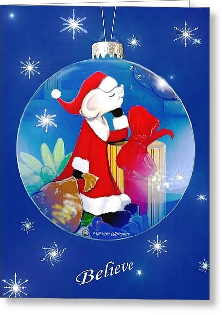 Believe Greeting Card