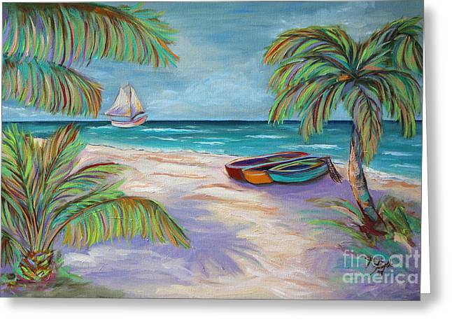 Belize Beach Greeting Card