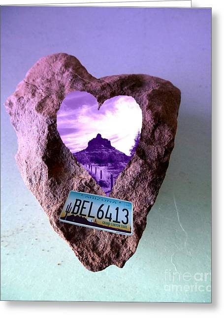 Bell Rock 6413 Serendipity Greeting Card by Marlene Rose Besso