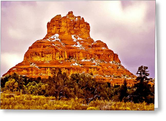 Bell Rock Sedona Az Greeting Card