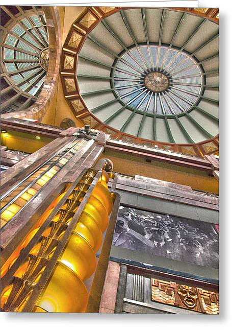 Bellas Artes Interior Greeting Card