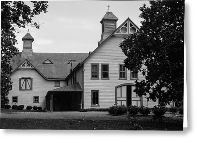 Belle Meade Mansion Carriage House Greeting Card by Robert Hebert