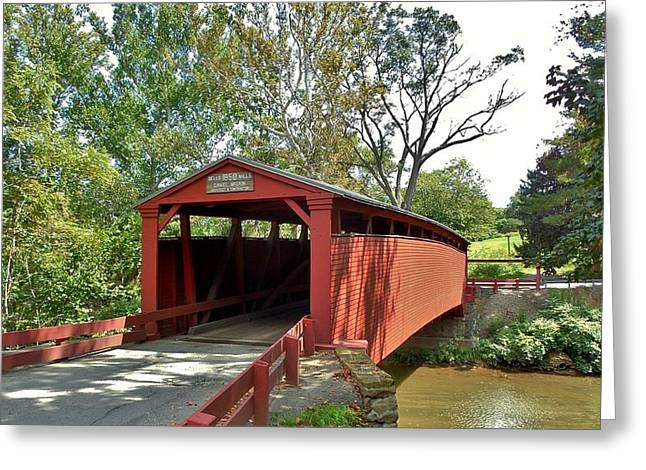 Bells Mills Covered Bridge Greeting Card